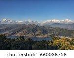 pokhara and annapurna region  | Shutterstock . vector #660038758