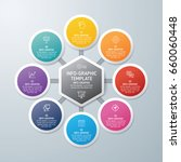 template info graphic design....   Shutterstock .eps vector #660060448