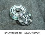 car part and air conditioner... | Shutterstock . vector #660078904