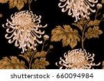 seamless floral pattern.... | Shutterstock . vector #660094984