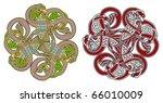 detailed celtic design element... | Shutterstock .eps vector #66010009