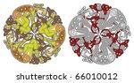 detailed celtic design element... | Shutterstock .eps vector #66010012