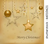 christmas and new year... | Shutterstock . vector #66010621