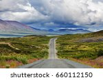 landscapes on denali highway ... | Shutterstock . vector #660112150