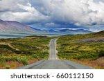 landscapes on denali highway ... | Shutterstock . vector #660112150