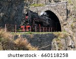 may 25  2017 the old locomotive ... | Shutterstock . vector #660118258