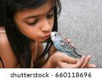 young indian girl    kid... | Shutterstock . vector #660118696