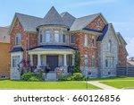 custom built luxury house in... | Shutterstock . vector #660126856