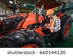 Quality Inspection Of Tractor...