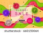 3d stylized multicolored...   Shutterstock .eps vector #660150064