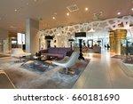 modern luxury hotel lounge | Shutterstock . vector #660181690