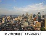 morning sunrise view of kuala... | Shutterstock . vector #660203914