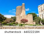 the maiden tower also known as... | Shutterstock . vector #660222184