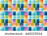 abstract geometry seamless... | Shutterstock .eps vector #660225016