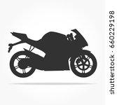 simple floating sport racing... | Shutterstock .eps vector #660229198
