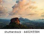 Sigiriya  Sri Lanka. Sunset...