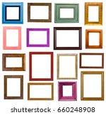 picture frame bungle | Shutterstock . vector #660248908