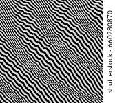 3d wavy background. dynamic... | Shutterstock .eps vector #660280870