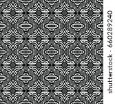 engraving seamless pattern. the ... | Shutterstock .eps vector #660289240