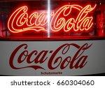 june 2015   berlin  the logo of ... | Shutterstock . vector #660304060
