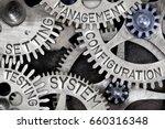 macro photo of tooth wheel... | Shutterstock . vector #660316348