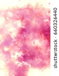 abstract watercolor texture... | Shutterstock . vector #660326440