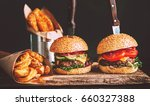 mouth watering  delicious... | Shutterstock . vector #660327388