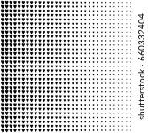 abstract halftone pattern.... | Shutterstock .eps vector #660332404