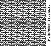 monochrome seamless pattern of... | Shutterstock .eps vector #660342268