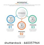 circle infographic template... | Shutterstock .eps vector #660357964