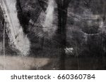 the glass surface is smeared... | Shutterstock . vector #660360784