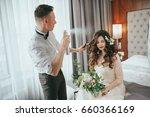 wedding bride's preparations.... | Shutterstock . vector #660366169