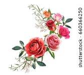 illustration of beautiful...   Shutterstock . vector #660366250