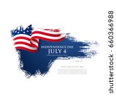 fourth of july independence day.... | Shutterstock .eps vector #660366988