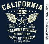 california military team ... | Shutterstock .eps vector #660376090