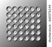 simple black 3d circle paper of ...