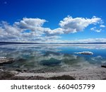Yellowstone Lake in Yellowstone National Park, USA