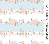 seamless gorgeous bright... | Shutterstock . vector #660414124