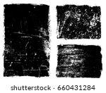 vector grunge frames.distress... | Shutterstock .eps vector #660431284