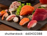 japanese food | Shutterstock . vector #660432388