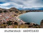 copacabana bolivia | Shutterstock . vector #660451633