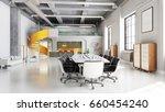 office space  meeting room... | Shutterstock . vector #660454240