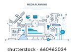 media planning  digital... | Shutterstock .eps vector #660462034
