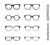 glasses | Shutterstock .eps vector #660483316