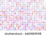 abstract colored square ... | Shutterstock .eps vector #660484948