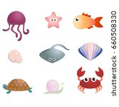 marine life | Shutterstock .eps vector #660508330