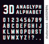 stereoscopic distortion  3d... | Shutterstock . vector #660509896