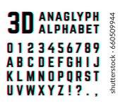 tv distortion 3d effect... | Shutterstock . vector #660509944