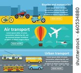 transportation banner... | Shutterstock . vector #660534880