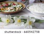 a wonderful breakfast with a... | Shutterstock . vector #660542758